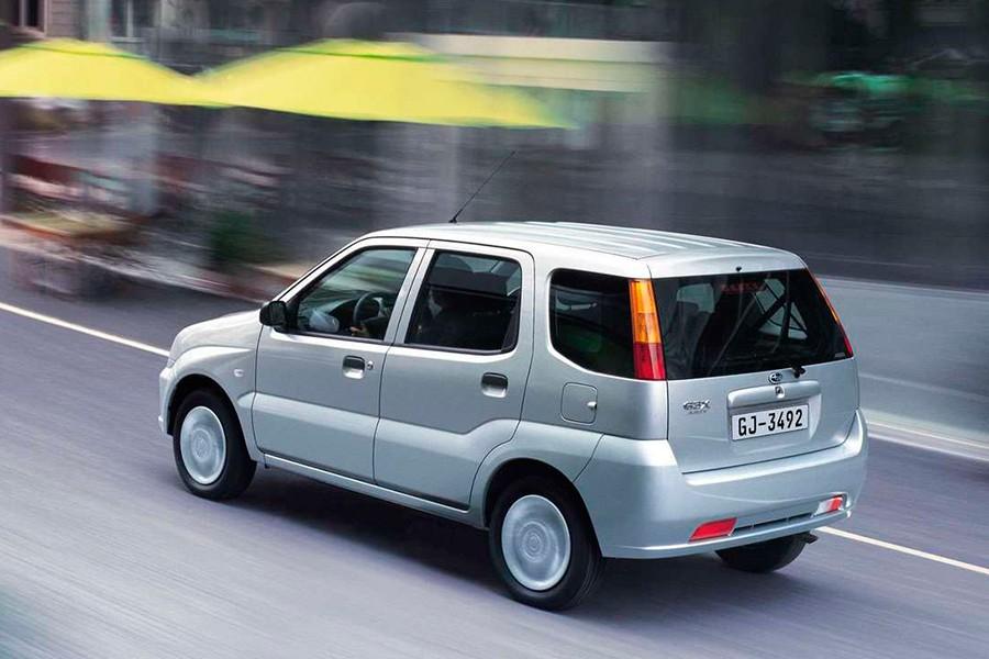 El Justy fue fruto de la colaboración con Suzuki.