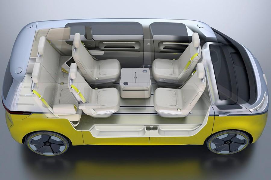 El interior es muy modubable gracias a la versatilidad de sus asientos.