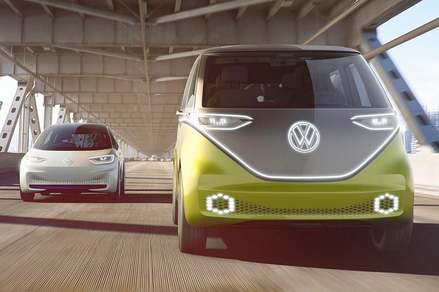 Los dos concepts eléctricos de VW.