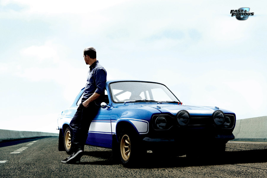 "Ford Escort MK I, el coche de O'Conner en ""Fast and Furious 6""."