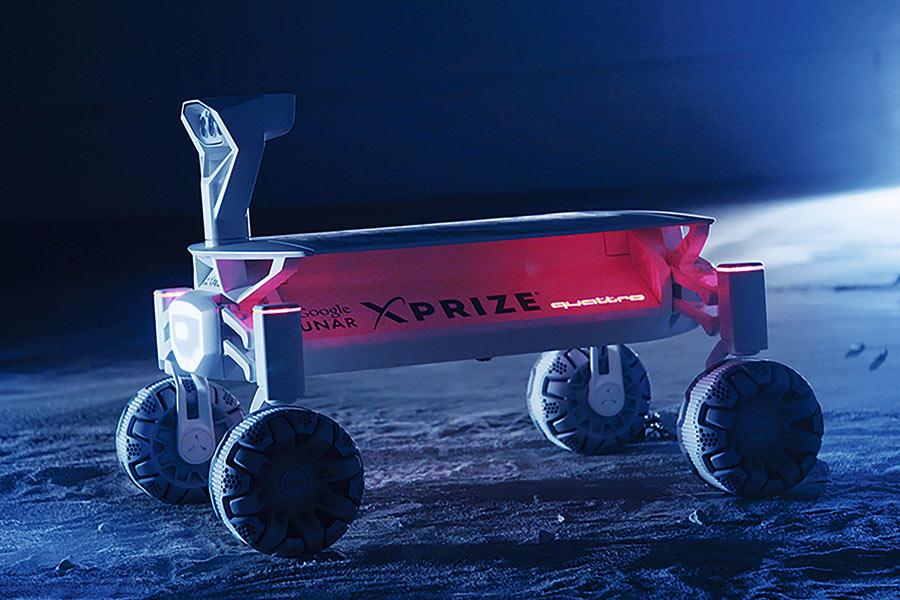 El Audi Lunar Quattro pisará la Luna y se estrenará en el cine