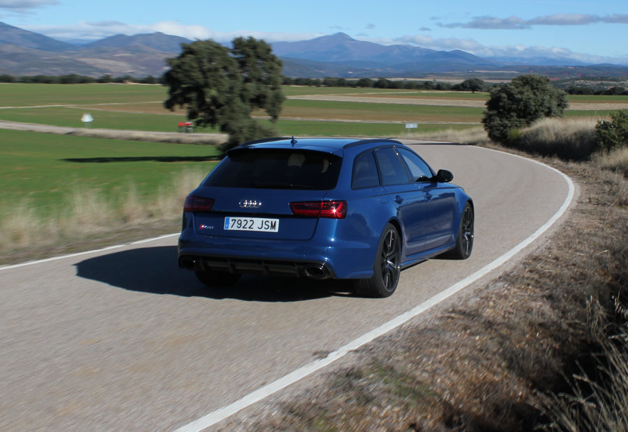 El Audi Rs6 está disponible, únicamente, con carrocería familiar.