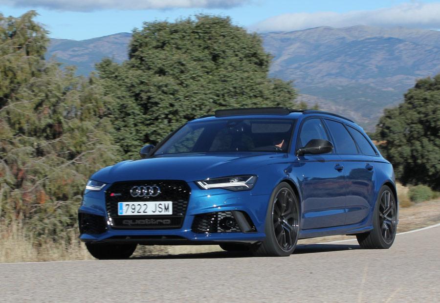 Prueba Audi RS6 Avant S-Tronic Perfomance