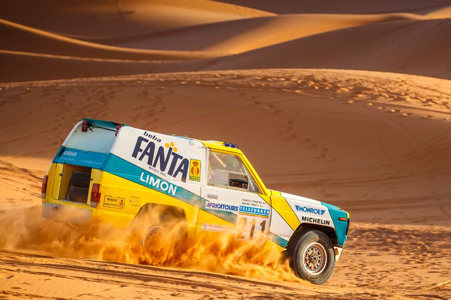 Este Nissan Patrol modificado en Barcelona volverá al Dakar 30 años después.