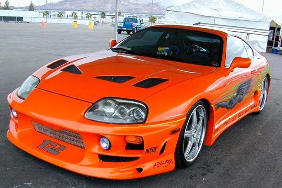 "Toyota Supra, el coche de O'Conner en ""The Fast and the Furious"" (1)."
