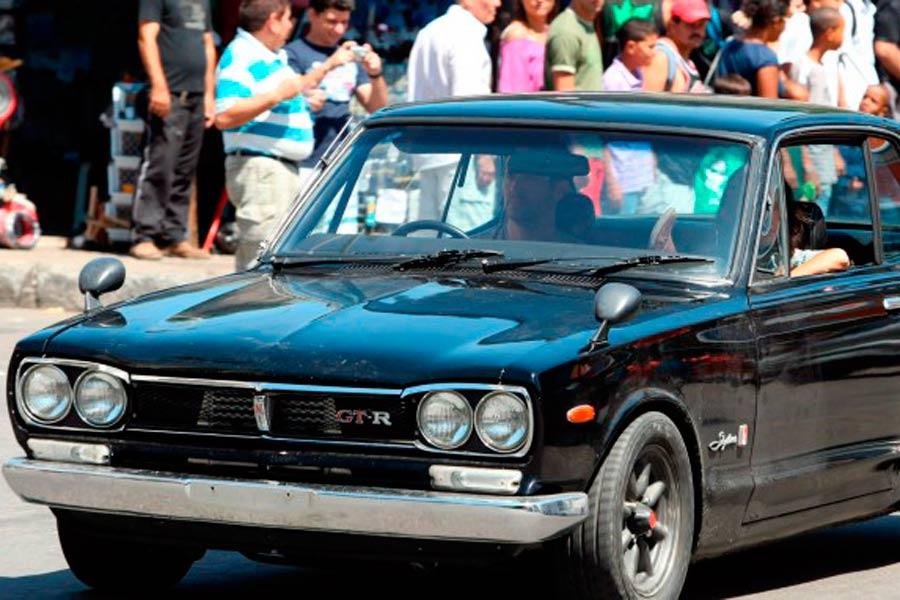 "Nissan Skyline GT-R KPGC10, el coche de O'Conner en ""Fast Five""."