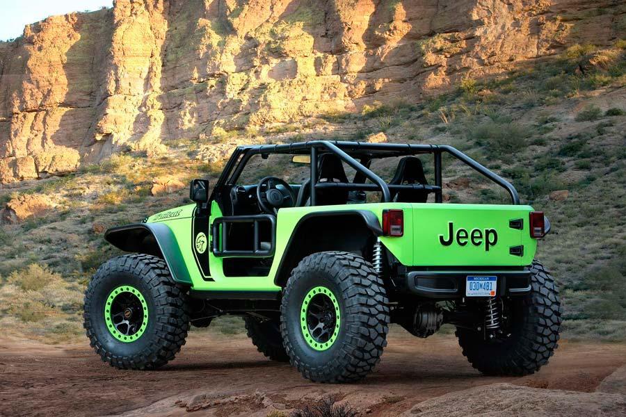 Jeep Wrangler Trailcat.