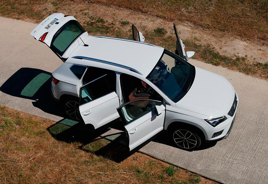 Cómo es el Seat Ateca como coche para viajar