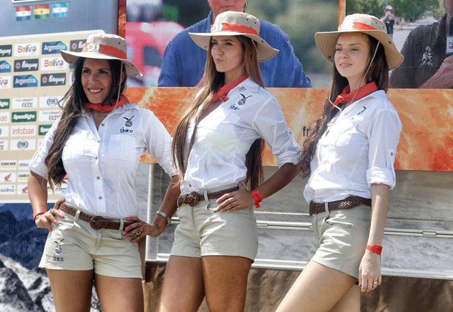 Azafatas del Rally Dakar.