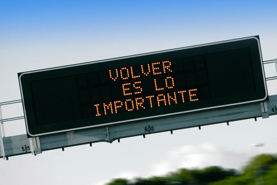 Medidas para revertir la situación de mortalidad en las carreteras a descendente.
