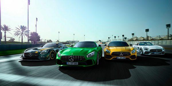 Mercedes AMG repasa su 50 años de historia, en vídeo