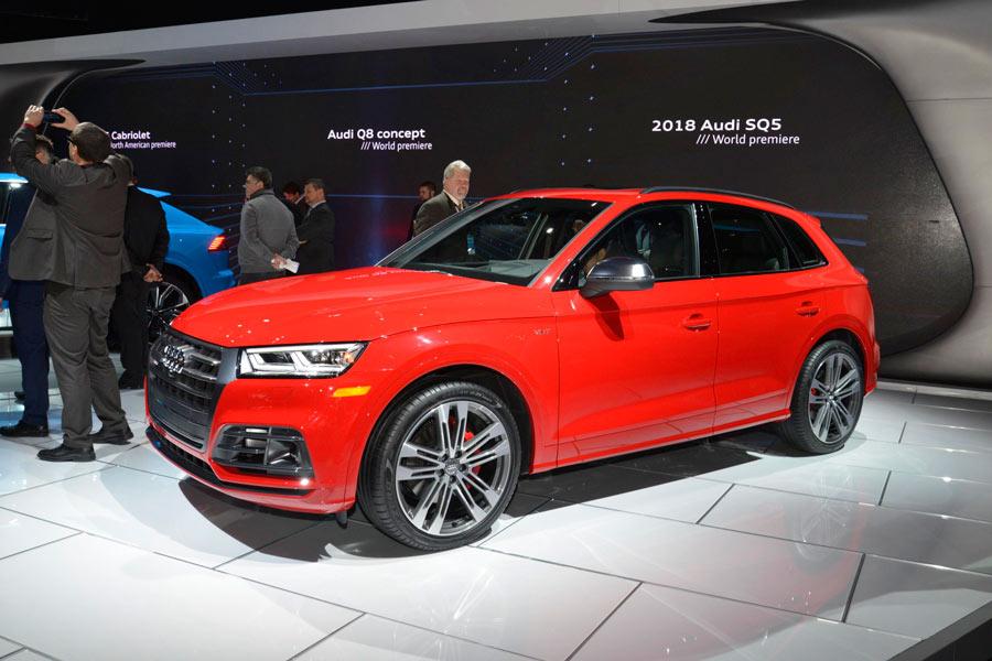 El nuevo Audi SQ5 2017 se desvela en Detroit
