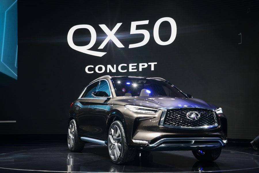 El Infiniti QX50 Concept se estrena en Detroit 2017