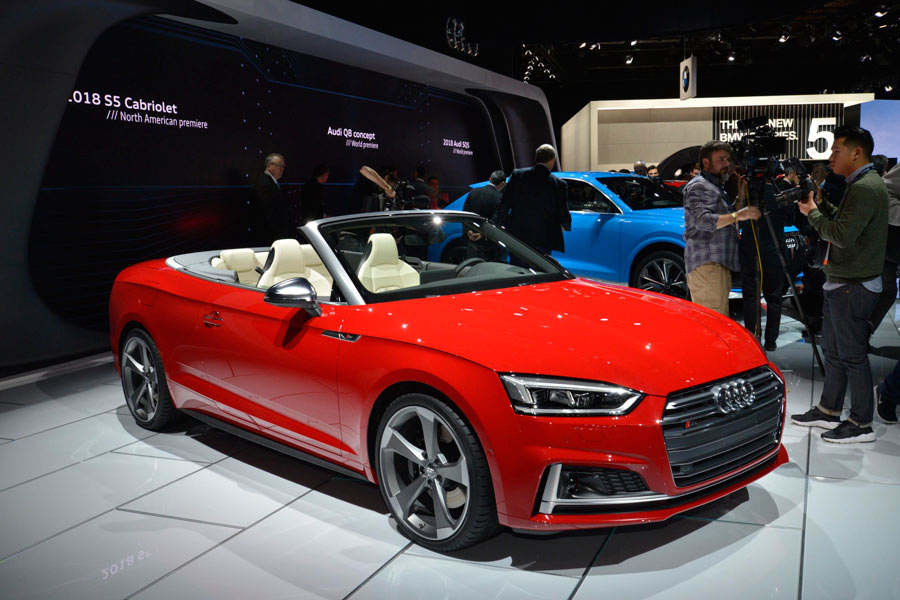 Nuevos Audi A5 Cabrio y Audi S5 Cabrio 2017