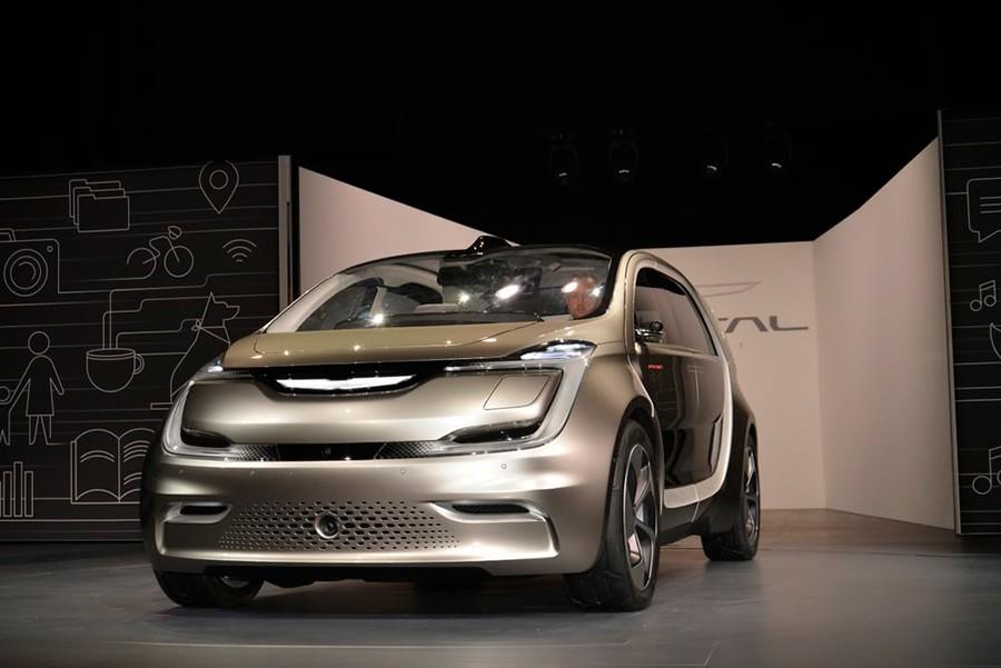 El Chrysler Portal Concept en el CES Las Vegas 2017