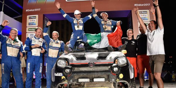 Fiat Panda conquista el Rally Dakar 2017