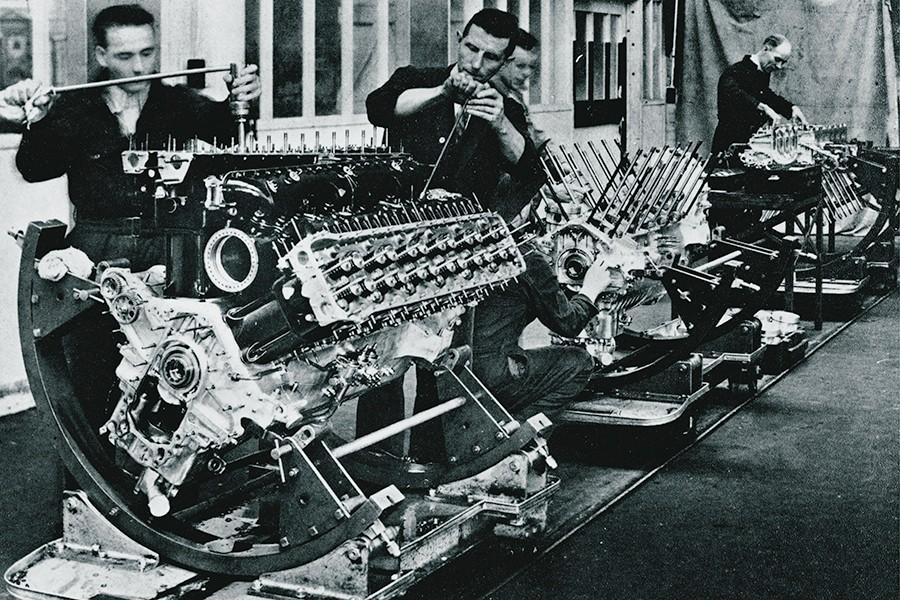 El motor Rolls Royce Merlin fue toda una referencia durante décadas.