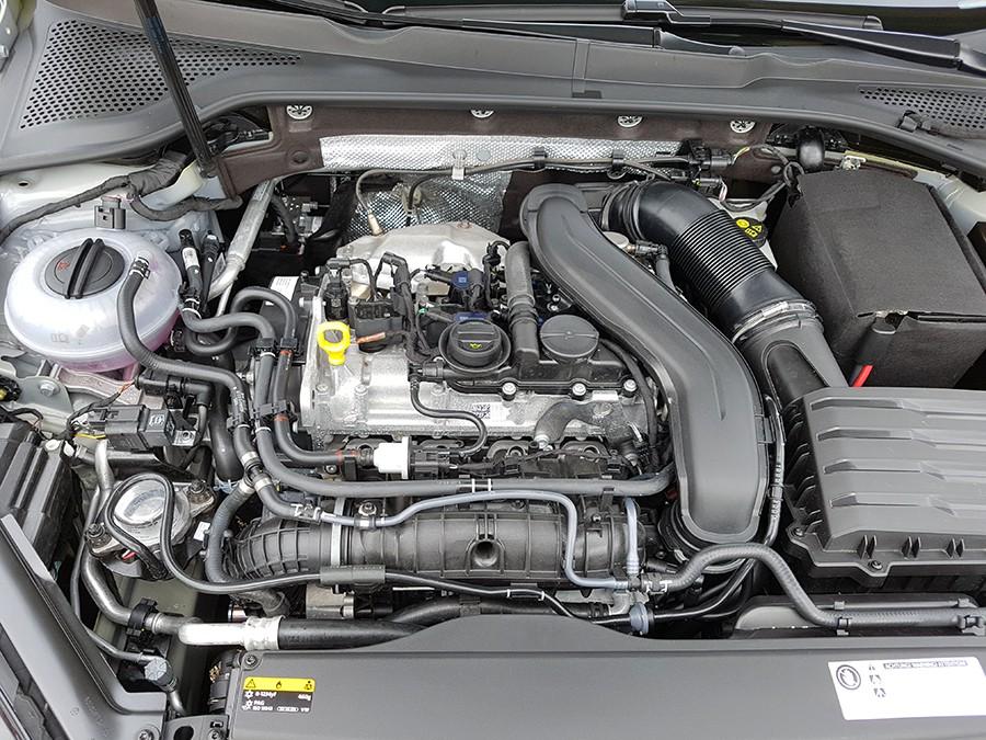 El motor 1.5 TSi de 150 CV sorprende por sus prestaciones y agrado de utilización.