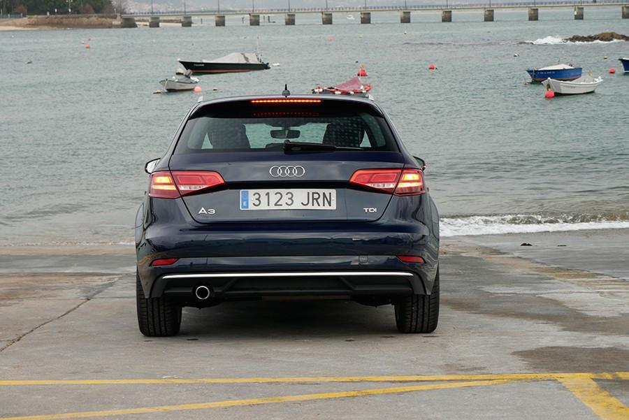 Los consumos del Audi A3 1.6 TDi son ajustados.