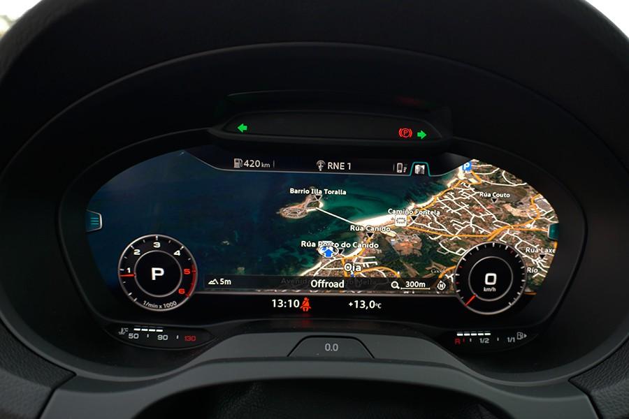 El Virtual Cockpit es una de las características más llamativas de su equipamiento.