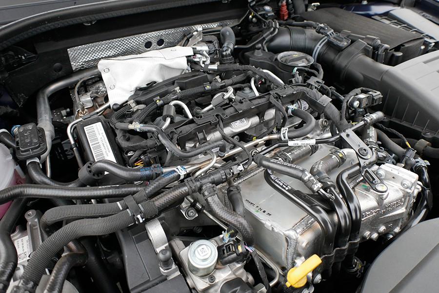 El motor 1.6 TDi es eficiente, pero es muy rumoroso.