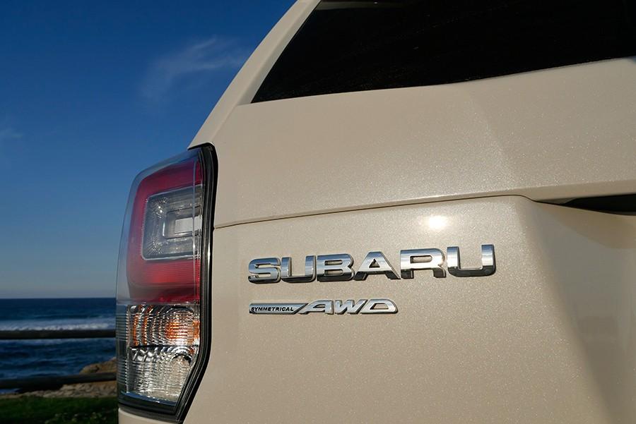 El Forester no puede negar su procedencia Subaru.