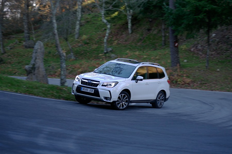 No hay muchos SUV con una seguridad activa como la del Forester.