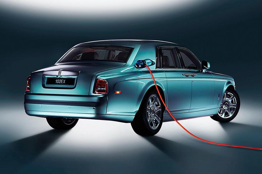 La tecnología y la ecología no están reñidas con el lujo de Rolls Royce.