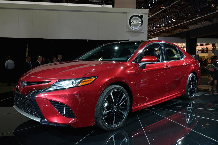 Toyota presenta en Detroit el nuevo Camry 2018