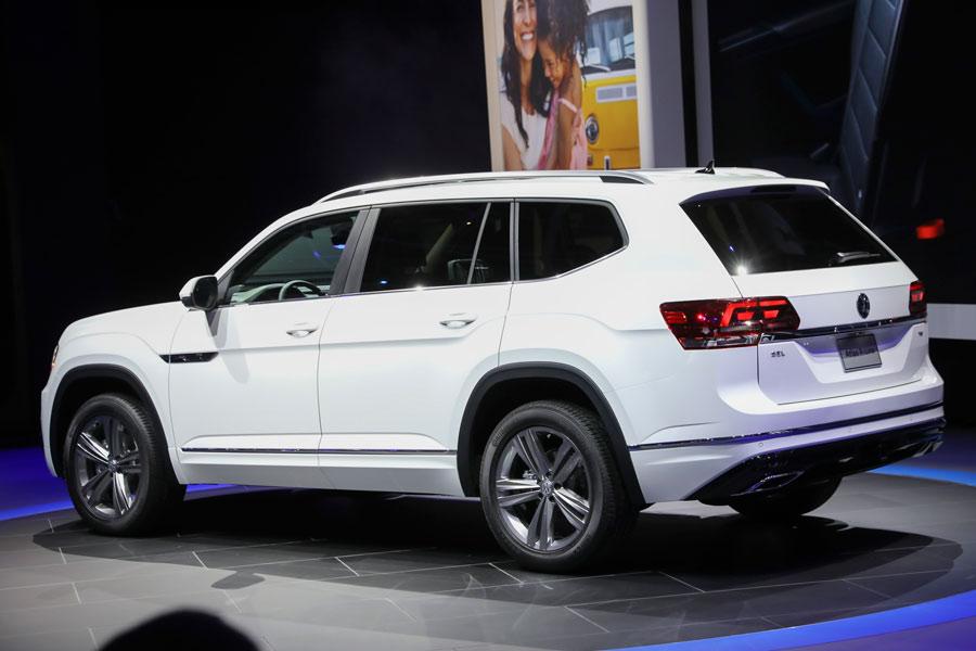 El nuevo VW Atlas 2017 debuta en Detroit