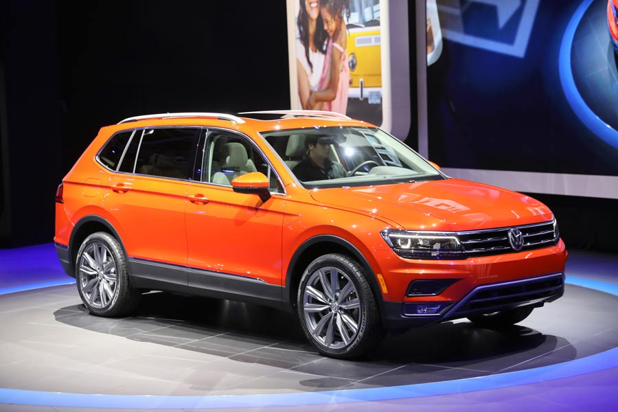 Nuevo Volkswagen Tiguan 7 plazas en Detroit 2017