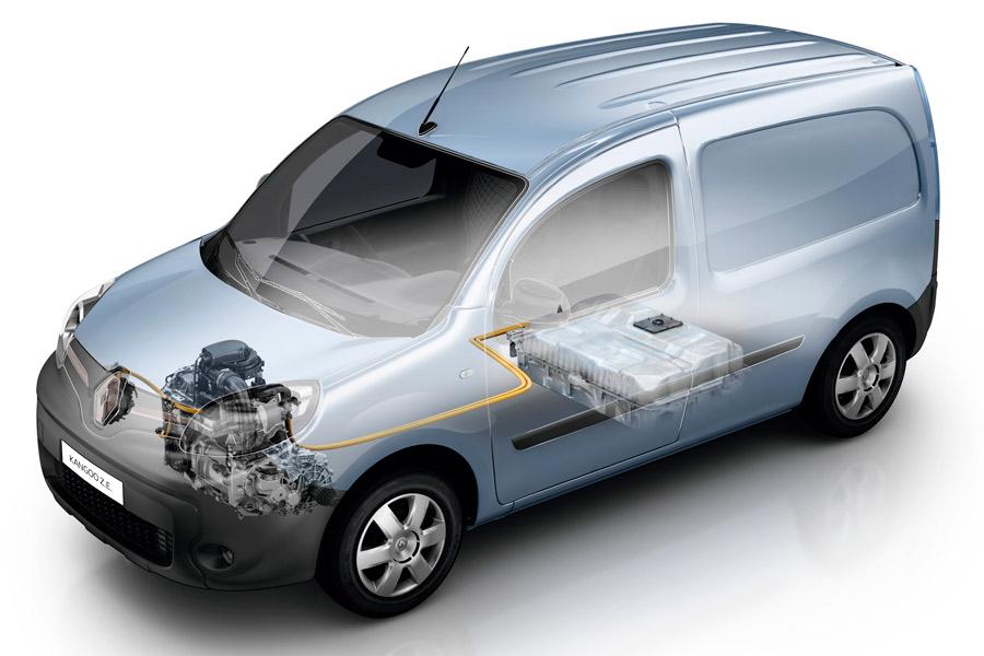 El Renault Kangoo ZE tiene una autonomía de 270 kilómetros.