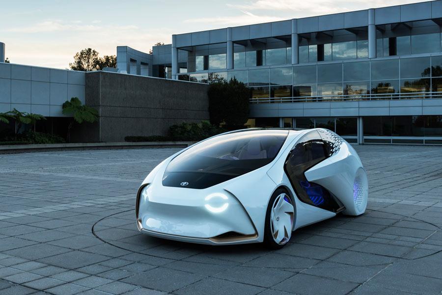 Toyota Concept-i,  la marca avanza su futuro en el CES 2017