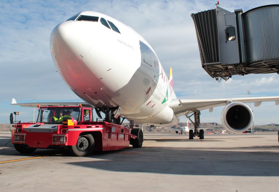 Qué coches y vehículos hay en un aeropuerto