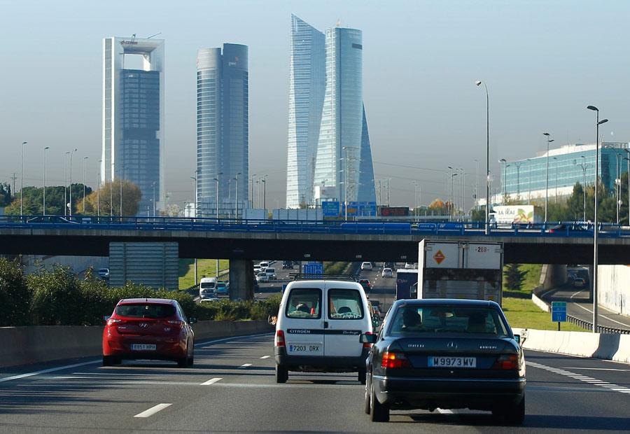 Los conductores madrileños rechazan el Plan A de aire