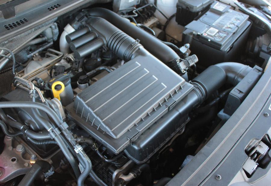 El motor 1.4 TSI es una verdadera joyita de suavidad, empuje y bajos consumos.