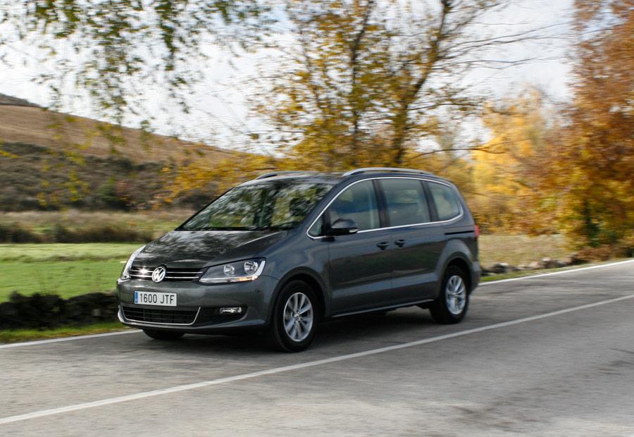 Prueba VW Sharan 2.0 TDI 150 CV manual 6 marchas