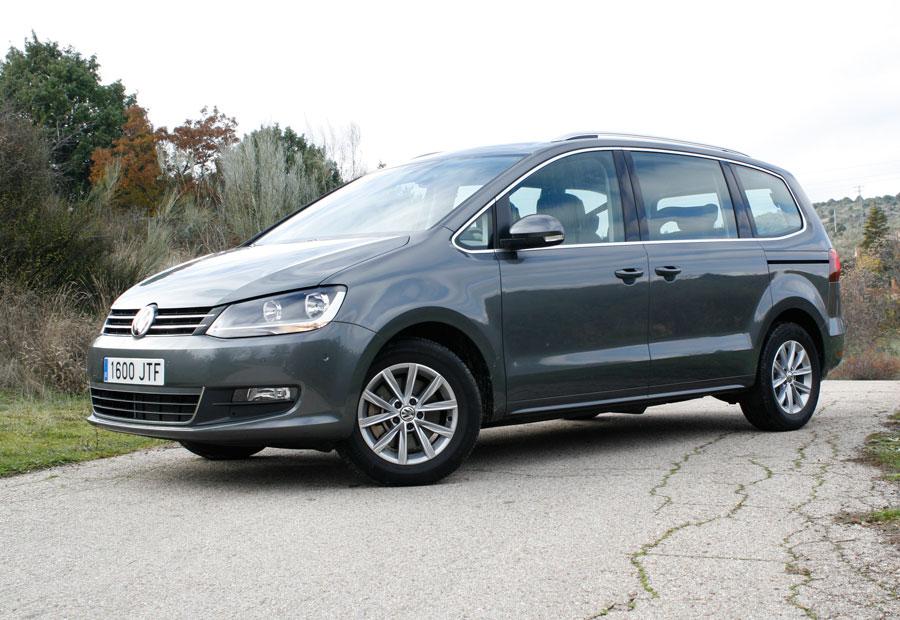 En el nuevo VW Sharan los cambios estéticos son menores.