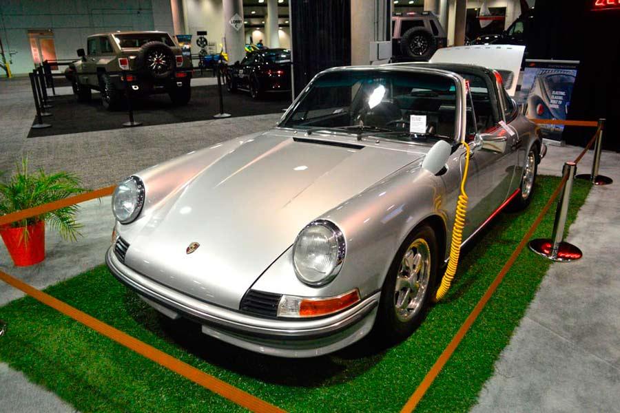 Zelectric Motors presenta un Porche 911 clásico eléctrico