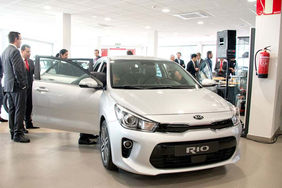 Ibericar presenta el nuevo Kia Rio en Málaga