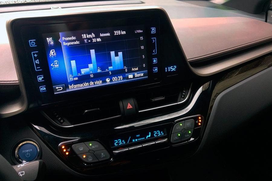 En ciudad, el Toyota C-HR consume muy poco.