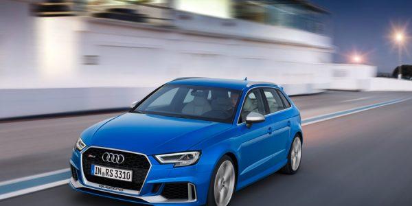 Audi RS3 2017, el más potente de la historia