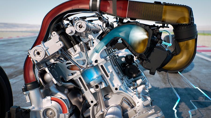 Sistema de inyección de agua del BMW M4 GTS.