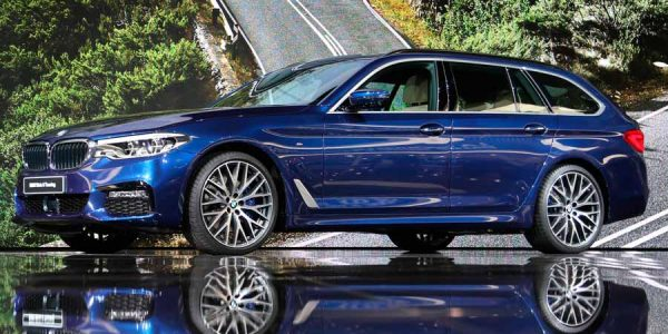 Nuevo BMW Serie 5 Touring 2017, más ligero y espacioso