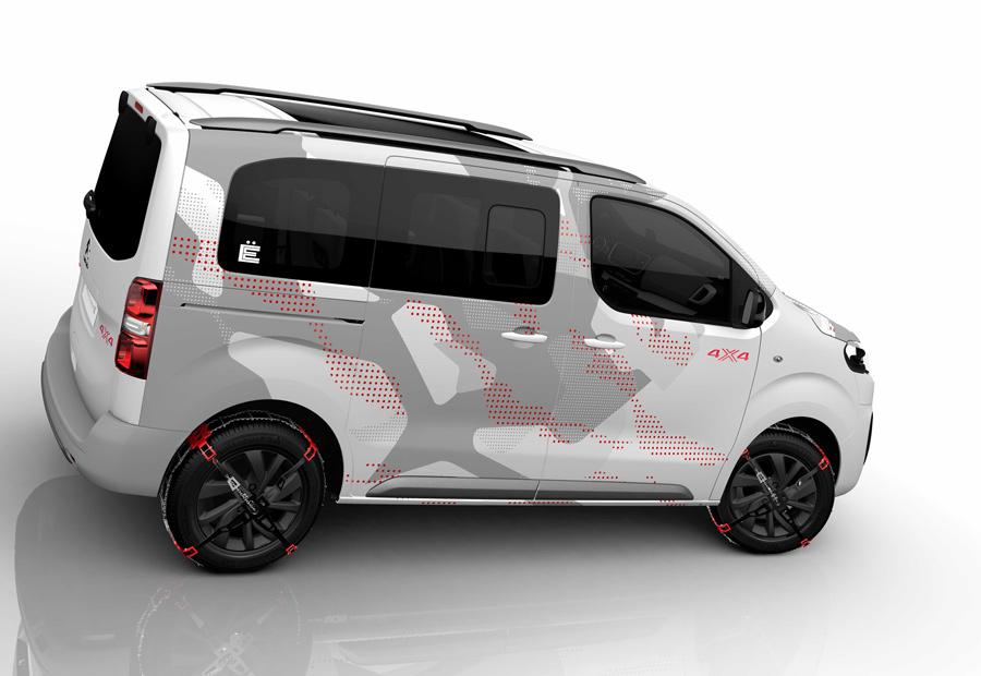 "Citroën Spacetourer 4×4 E, nuevo ""concept"""