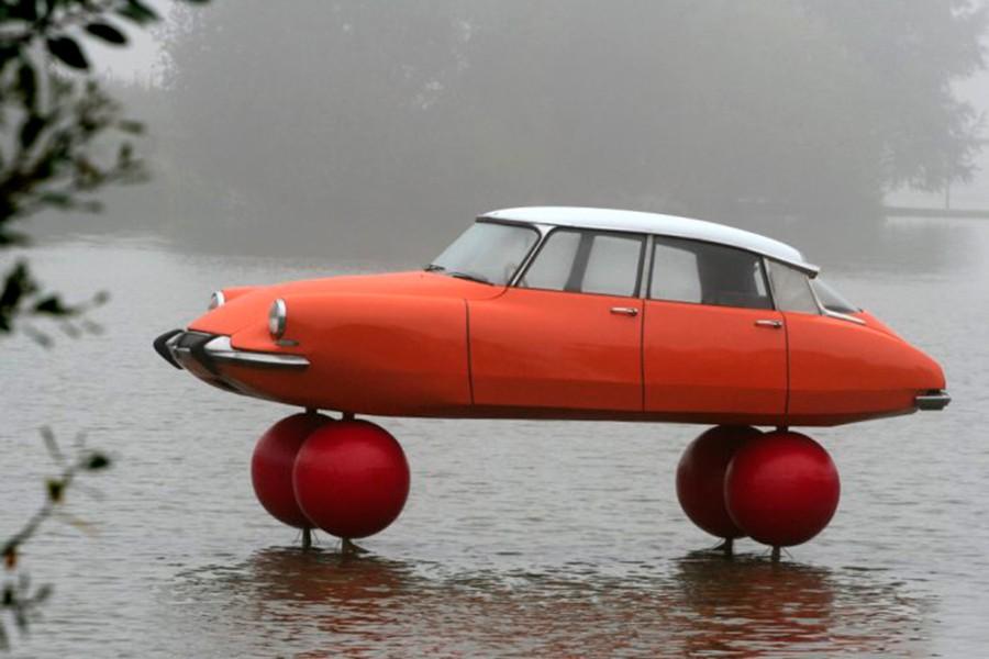 El Citroën DS es uno de los automóviles más revolucionarios jamás diseñado.