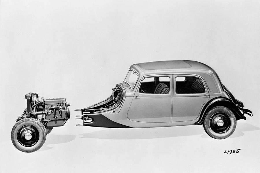 El Citroën Traction incorporó muchas primicias en su lanzamiento.