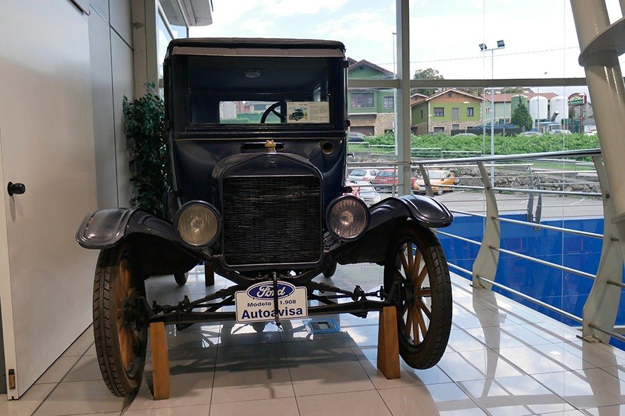 El Ford T es el coche más influyente de la historia.