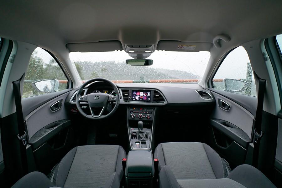 Los cambios en el interior se centran en la consola central.