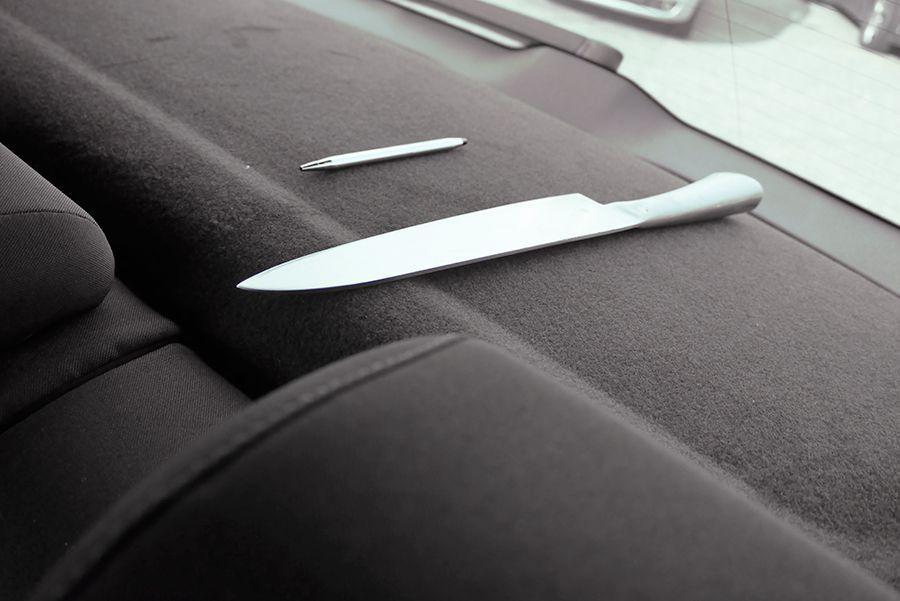 Cómo evitar lesiones con los objetos sueltos en el coche